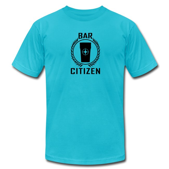 Bar Citizen American Apparel (Black Logo)