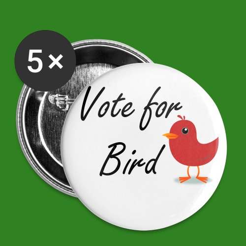 Vote for Bird 2 1/4 56mm Pin - Large Buttons