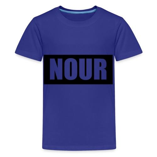 nour logo shirt - Kids' Premium T-Shirt