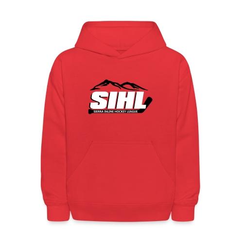 SIHL Youth Hoodie Red w BW Logo - Kids' Hoodie