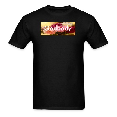 Godbody Floral Box Logo Tee - Men's T-Shirt
