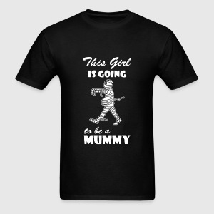 Pregnant Mummy - Men's T-Shirt