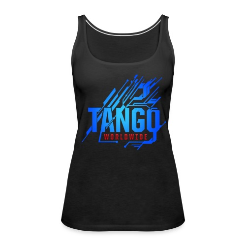 Blue Tech - Women's Premium Tank Top