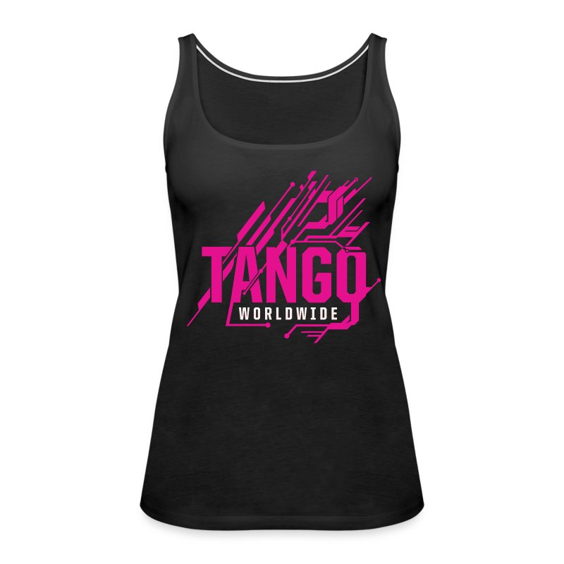 Pink Tech - Women's Premium Tank Top