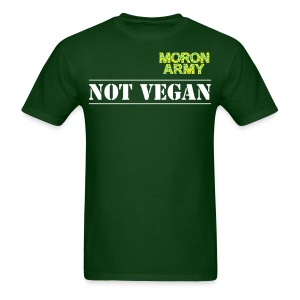 Not Vegan - short sleeve t-shirt - Men's T-Shirt