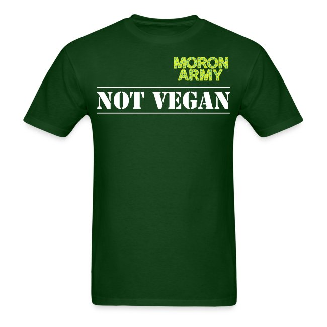Not Vegan - short sleeve t-shirt