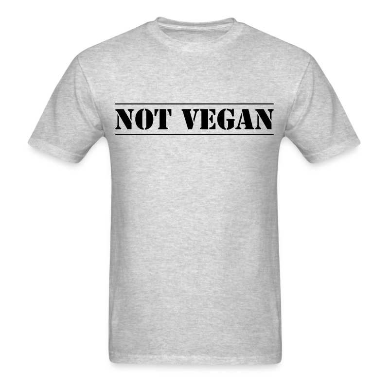 notvegan - Men's T-Shirt