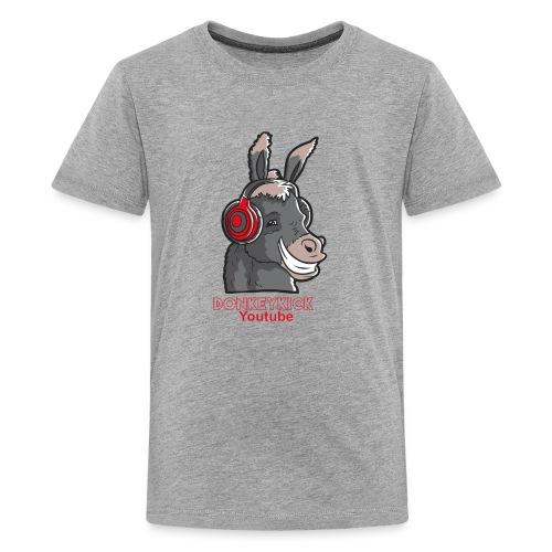 Children DonkeyKick Headphone - Kids' Premium T-Shirt