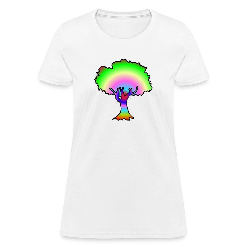 Tree of trippin' - Women's T-Shirt