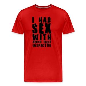 Necro Field Inspector Sex Shirt - Men's Premium T-Shirt