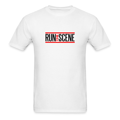 RTS White (Mens Tee) - Men's T-Shirt