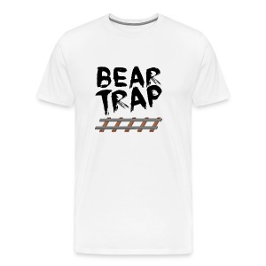 BEAR TRAP TRAIN TRACKS TEE - Men's Premium T-Shirt