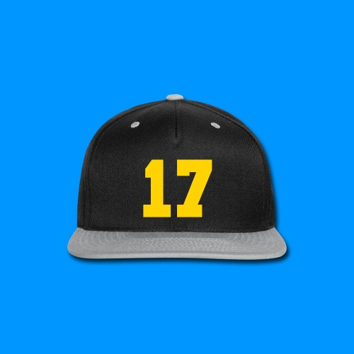 PURPLE AND YELLOW BASKET CAP - Snap-back Baseball Cap