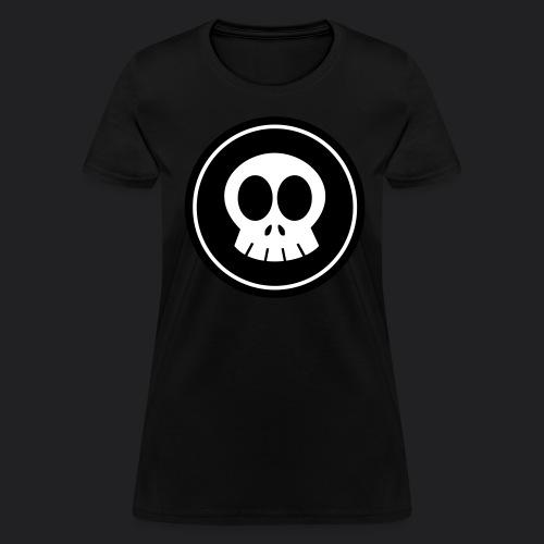 SkullSpace Logo - White - Women's T-Shirt