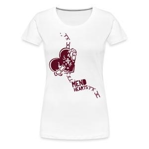 Women's Mend Hearts - Women's Premium T-Shirt