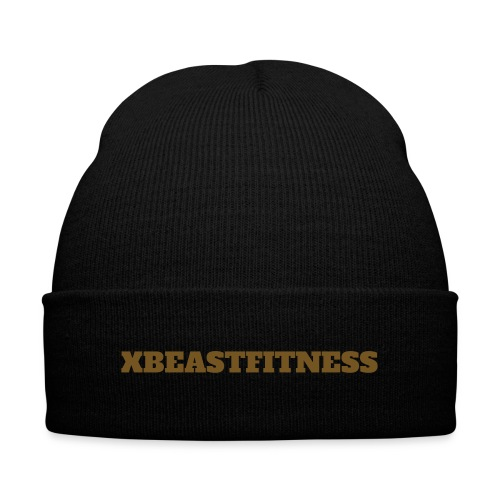 XBF Skully - Knit Cap with Cuff Print