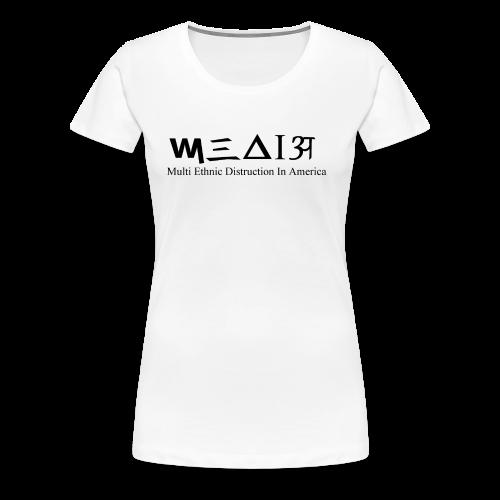M.E.D.I.A.... Woman's Tank - Women's Premium T-Shirt