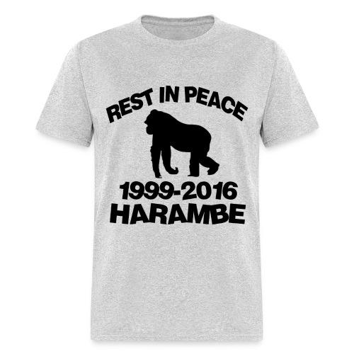 *XL* Mens Harambe T-Shirt - Men's T-Shirt