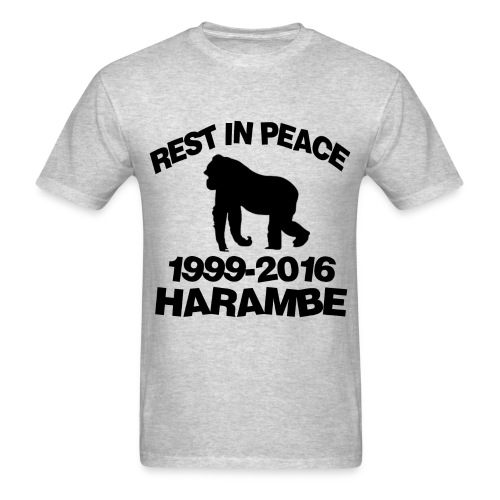 *LARGE* Mens Harambe T-Shirt - Men's T-Shirt
