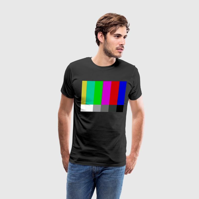 Television Color Bars T-Shirts - Men's Premium T-Shirt
