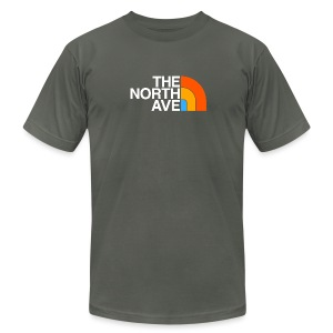 North Ave - Men's T-Shirt by American Apparel
