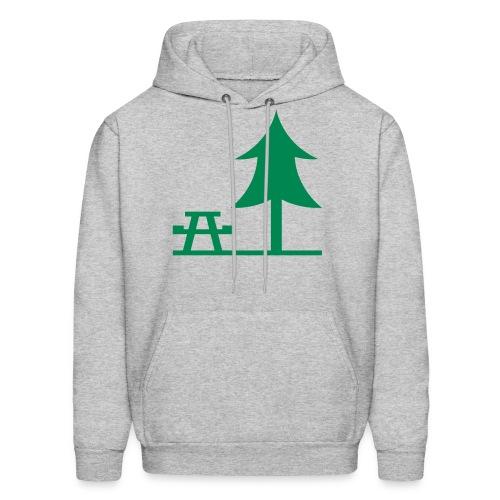 Picnic by a Pine Tree Sweatshirt - Men's Hoodie