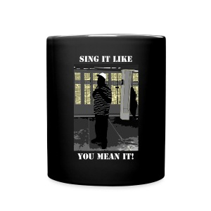 Sing It Like You Mean It - NYC Subway Singer Mug - Full Color Mug