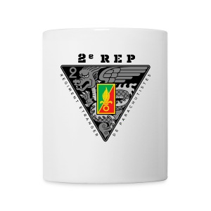 2e REP Badge - Foreign Legion - White Mug - Coffee/Tea Mug