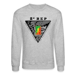 2e REP Badge - Foreign Legion - Sweatshirt - Light - Crewneck Sweatshirt