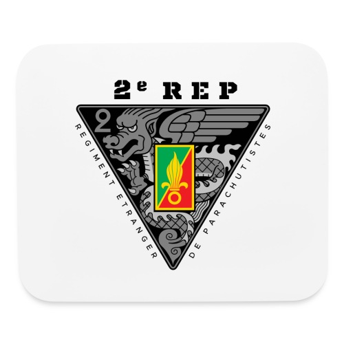 2e REP Badge - Foreign Legion - Mouse Pad - Mouse pad Horizontal