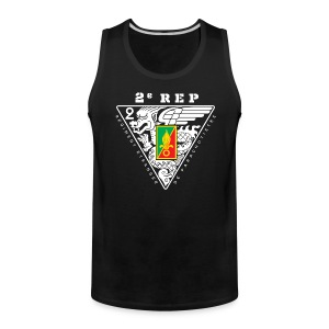 2e REP Badge - Foreign Legion - Premium Tank Top - Men's Premium Tank