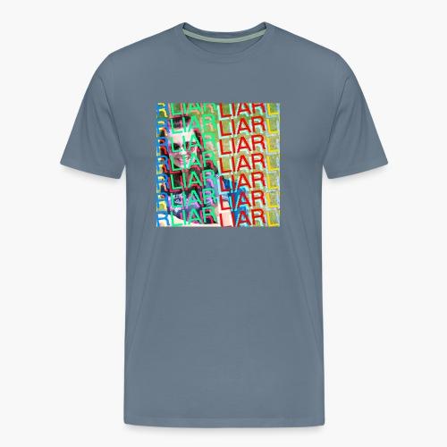 hannah be lyin fam - Men's Premium T-Shirt