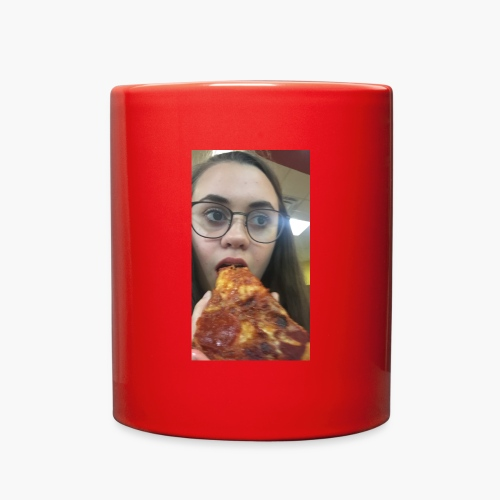 coffee is better with pizza - Full Color Mug