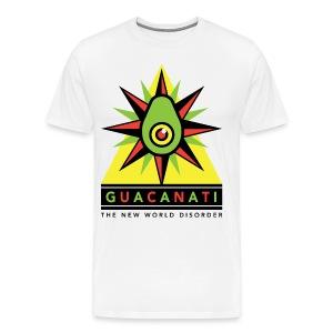 Guacanati New World Disorder  - Men's Premium T-Shirt