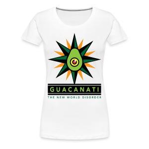 Guacanati New World Disorder - Women's Premium T-Shirt