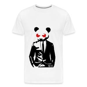 Panda Male T-shirt - Men's Premium T-Shirt