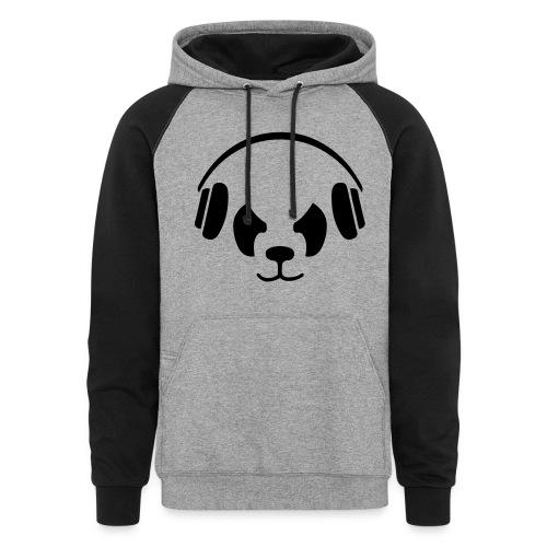 Panda Hoodie - Colorblock Hoodie