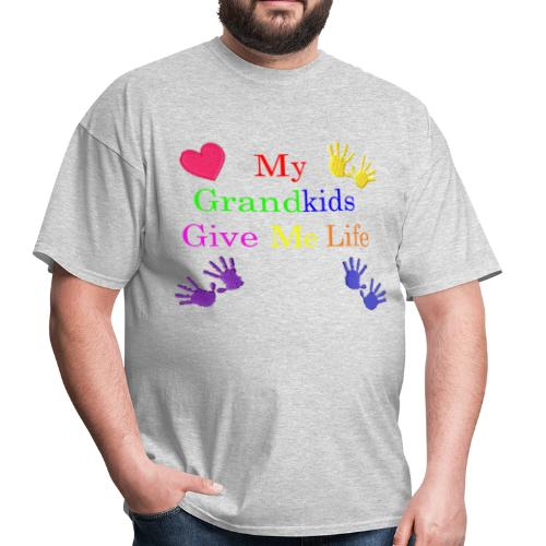 Grand kids Give Me Life - Men's T-Shirt