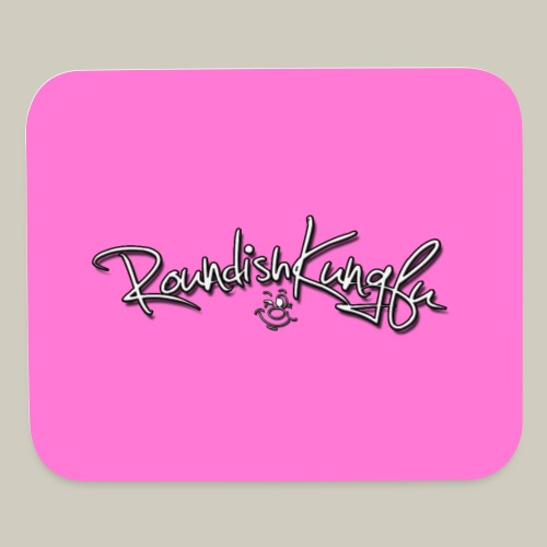 Logo Landscape Mouse Pad - Pink - Mouse pad Horizontal