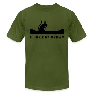 River Rat Brews Homebrewed - Men's Fine Jersey T-Shirt