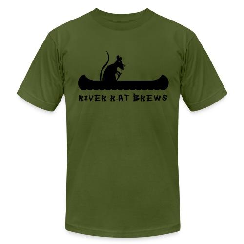 River Rat Brews Homebrewed - Men's  Jersey T-Shirt
