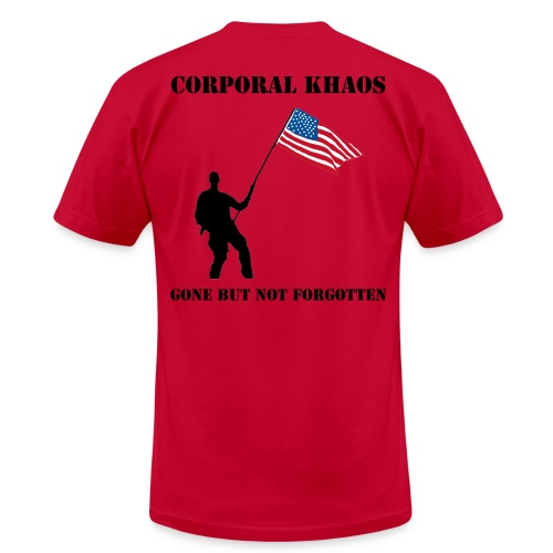River Rat Brews Corporal Khaos - Men's Fine Jersey T-Shirt