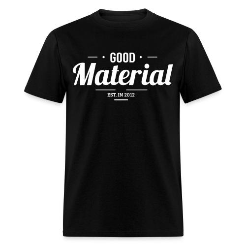 Material black - Men's T-Shirt