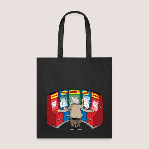 POWER SLOTTER Tote Bag, No Text - Tote Bag