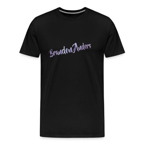 Brandon Anders Official T-Shirt - Men's Premium T-Shirt