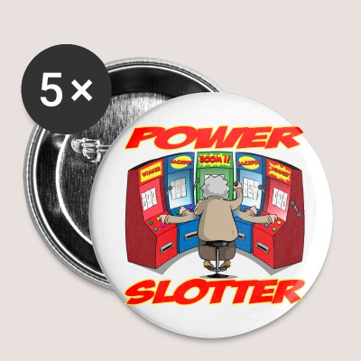 5 POWER SLOTTER BUTTONS - Large Buttons
