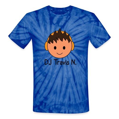 LIMITED EDITION- DJ Travis N. Tie-Dye Shirt - Unisex Tie Dye T-Shirt