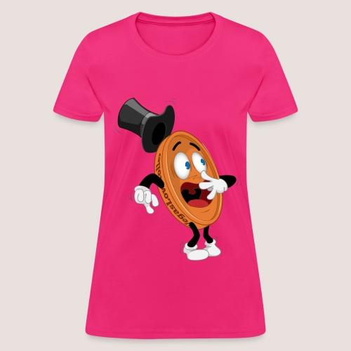 Women's Scared Penny Tee, No Text - Women's T-Shirt