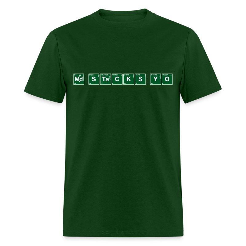 Atomic Mad Stacks Yo - Men's T-Shirt
