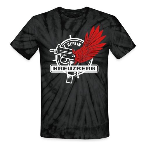 Berlin Kreuzberg Uzi Wing - Unisex Tie Dye T-Shirt